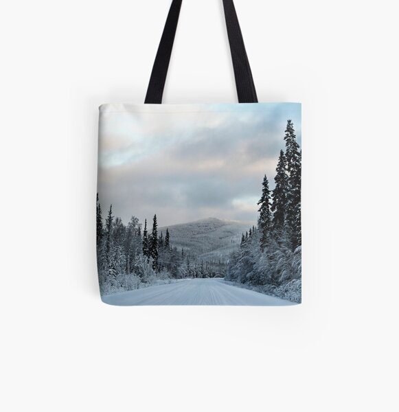 Trip into Winter 2 All Over Print Tote Bag