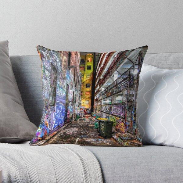 Hosier Lane Throw Pillow