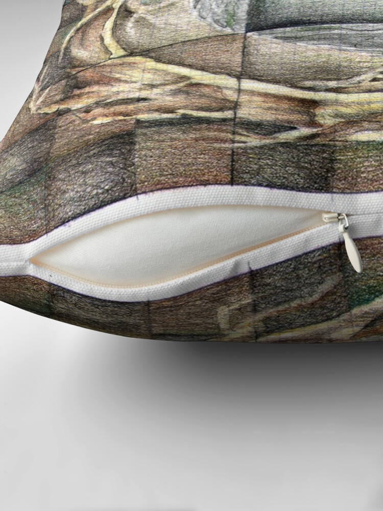 Alternate view of wheel 1: Unified Source Throw Pillow