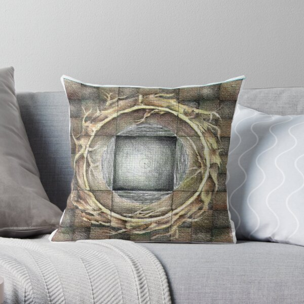 wheel 1: Unified Source Throw Pillow