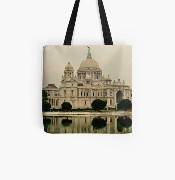Victoria Memorial Hall All Over Print Tote Bag