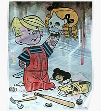 Dennis the Menace to Society Poster