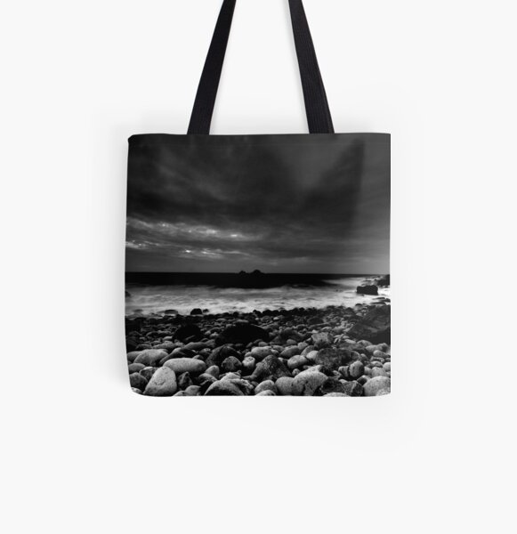Calm Before The Storm All Over Print Tote Bag