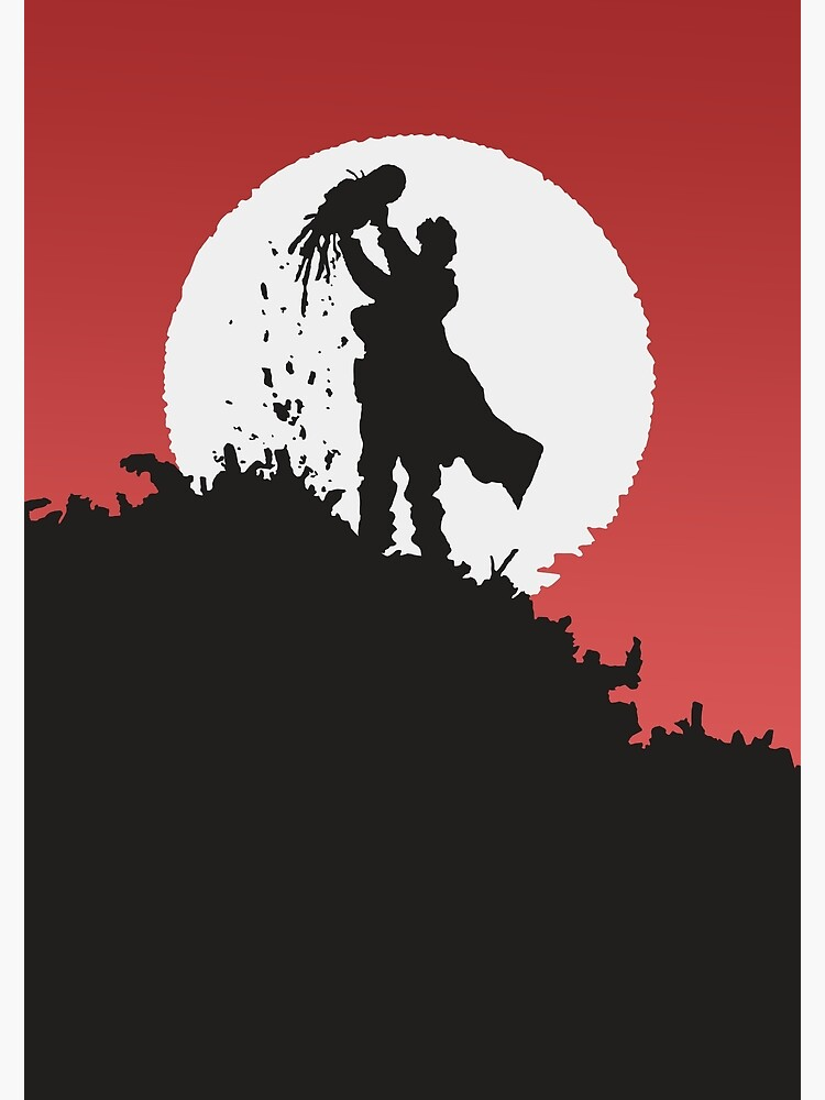 Alita Manga Vector Poster by Rosslington