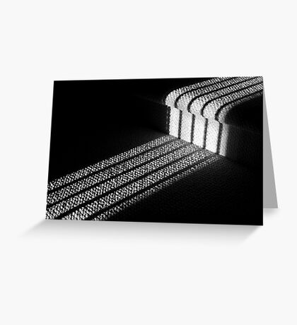 Staircase Shadow Greeting Card