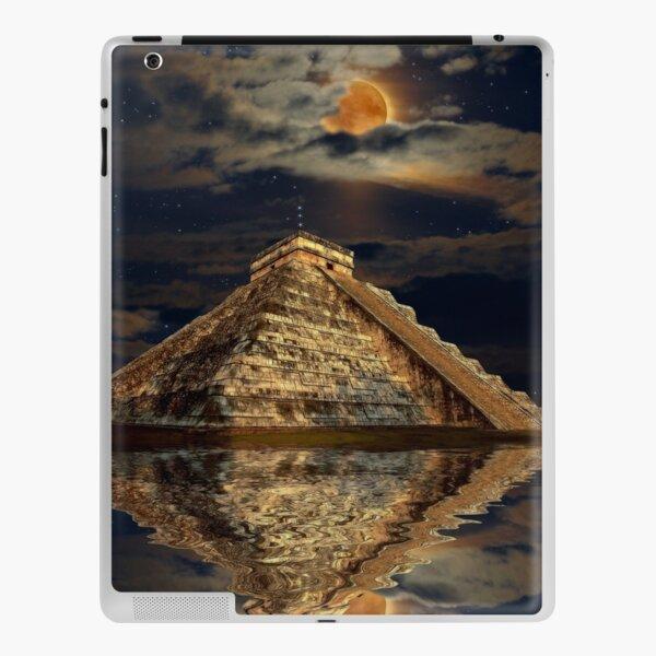 Chichen Itza Ancient Mayan Temple Art iPad Skin