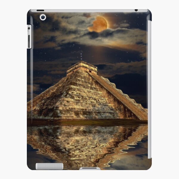 Chichen Itza Ancient Mayan Temple Art iPad Snap Case