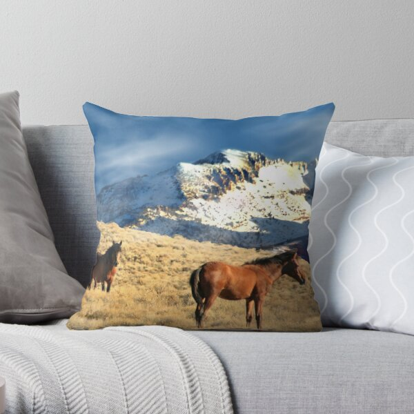 Rough And Rugged Throw Pillow