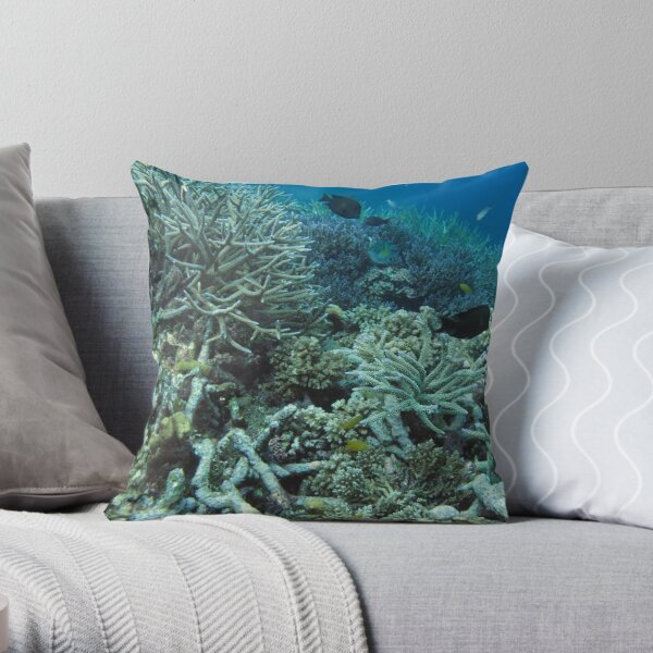 Tetepare Staghorn II Throw Pillow