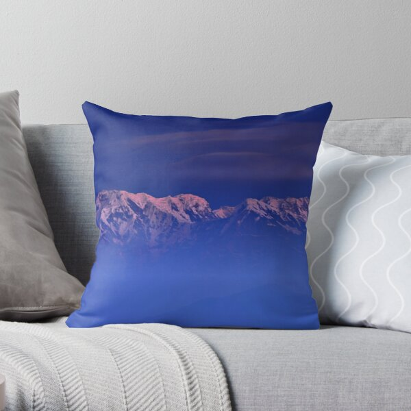 Annapurna One Throw Pillow