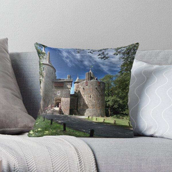 Castell Coch Throw Pillow