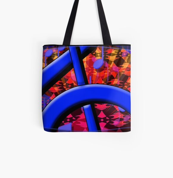 Dog8it-5 All Over Print Tote Bag