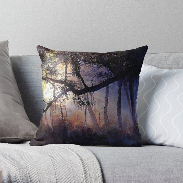 """Myakka River - Shadow Crossing"" Throw Pillow"