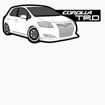 trd corolla sticker by zentari