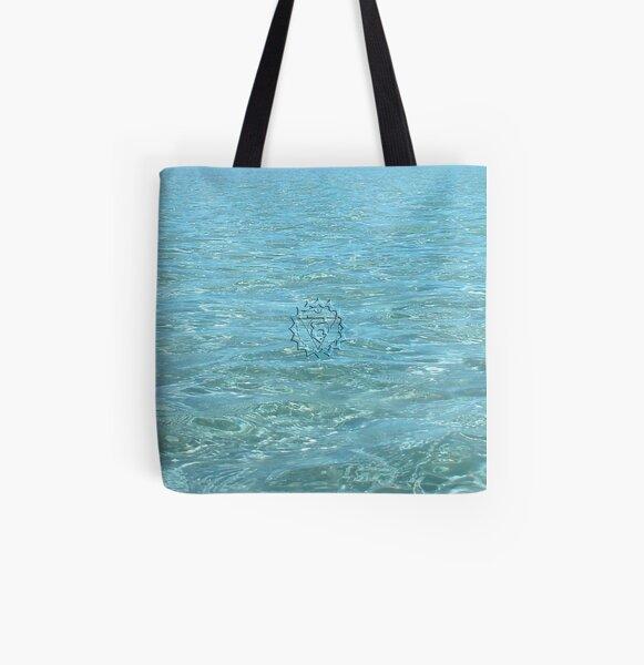 Vishudha ~ Throat Chakra ~ Blue All Over Print Tote Bag