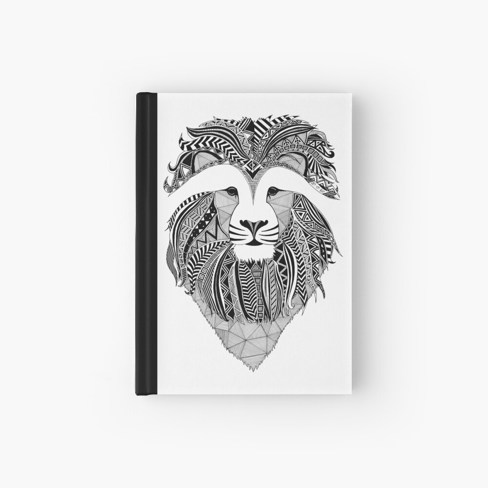 Lion Dark Cuaderno de tapa dura