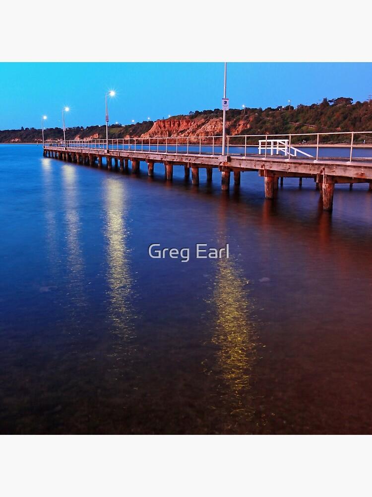 Half Moon Bay - Black Rock by GregEarl