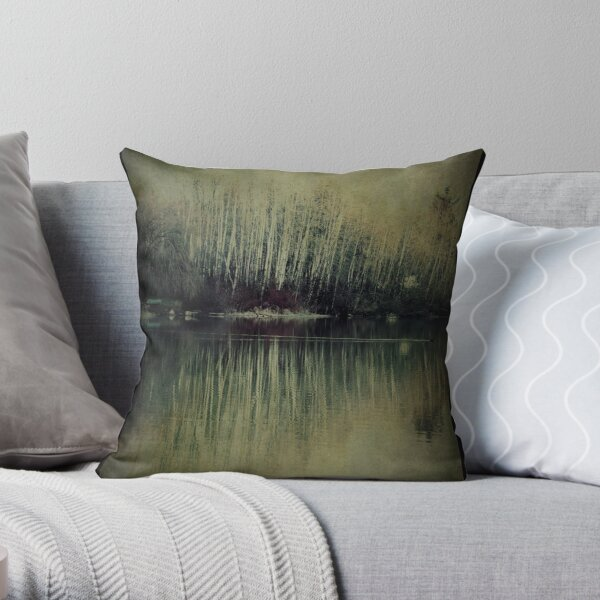 Crossing Over Throw Pillow