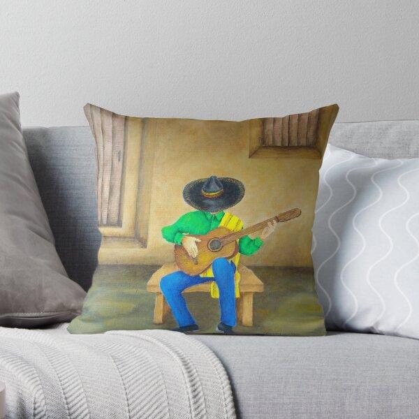 Mexican Serenade Throw Pillow