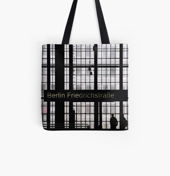 K018 All Over Print Tote Bag