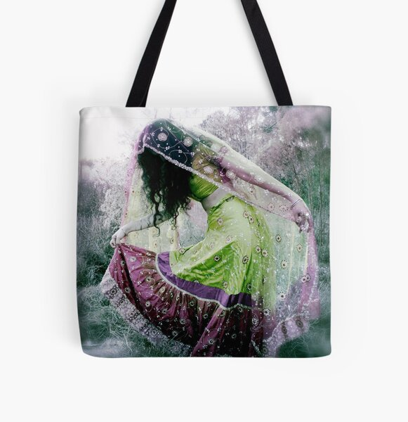 Fearless Dancing All Over Print Tote Bag