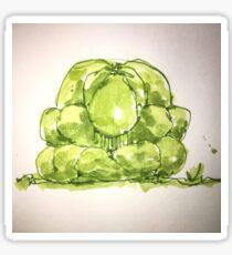 GREEN WEEPING BUDDHA Sticker