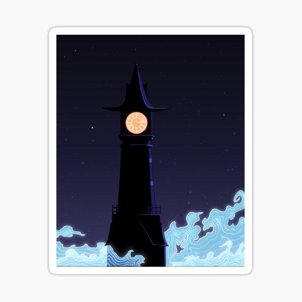 All Along The Clocktower Sticker