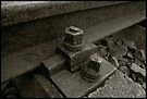 Auschwitz Birkenau - Railway 2 by Peter Harpley