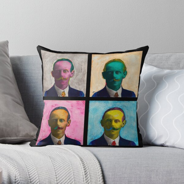 Four Uncle Walters Throw Pillow