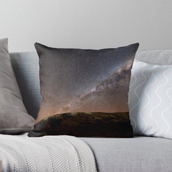 Our Galactic Neighborhood Throw Pillow