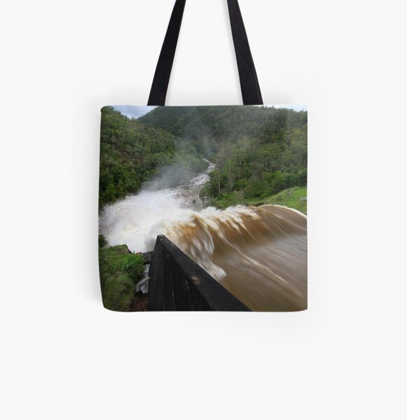 Power and Fury All Over Print Tote Bag