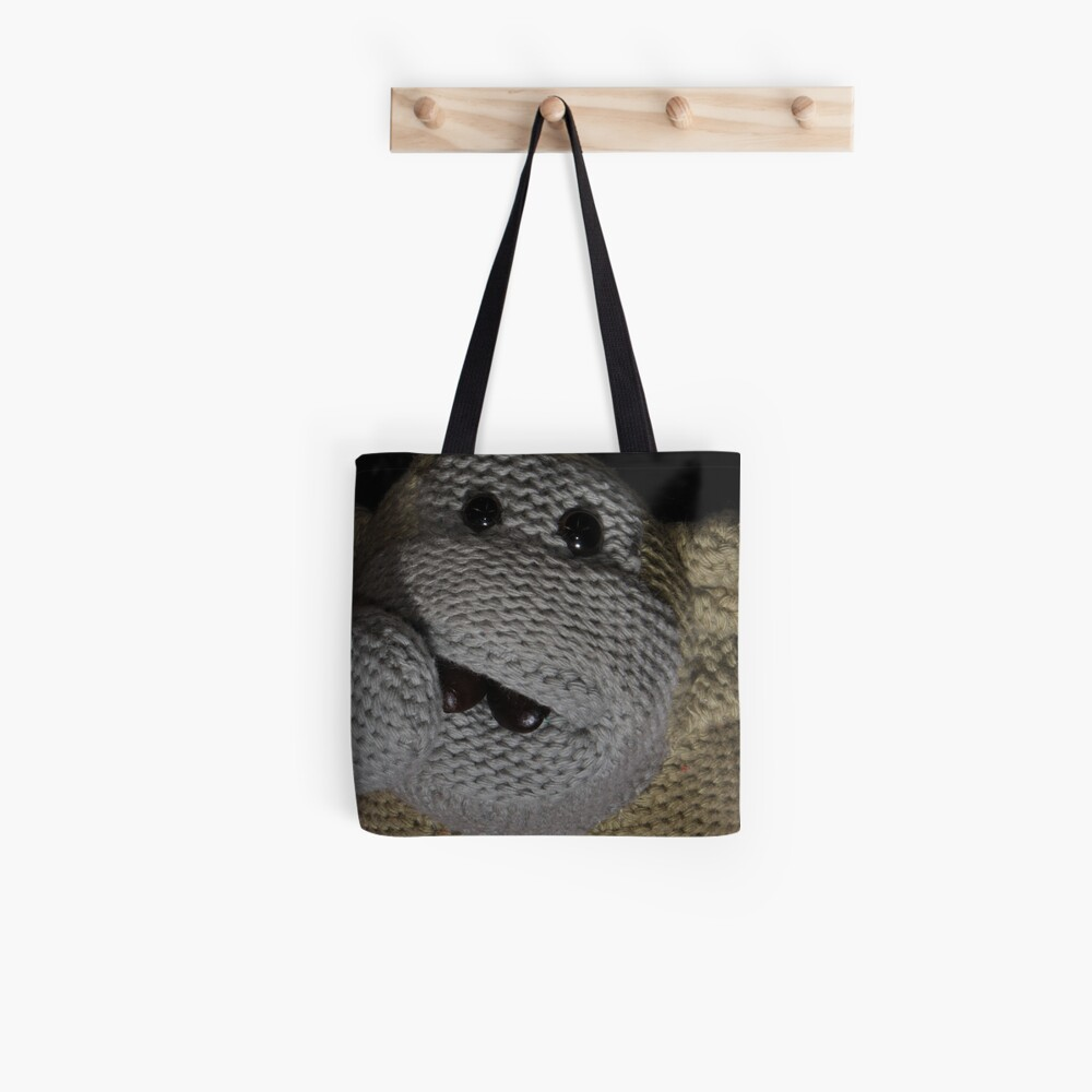 Monkey Coffee Tote Bag