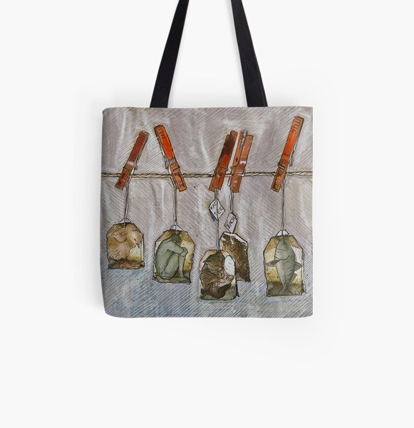 Homesickness tea and other remedies ... All Over Print Tote Bag