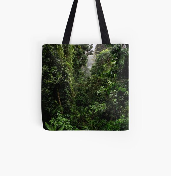 Mamu Rainforest Walk 2 All Over Print Tote Bag