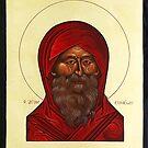 Icon of St.Simeon by stepanka