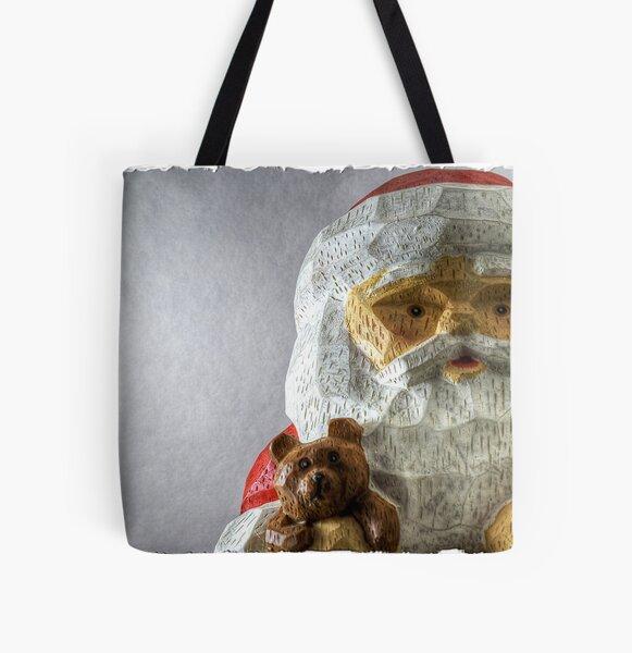 Santa Says Hi All Over Print Tote Bag