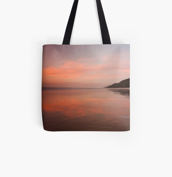 Looking Back All Over Print Tote Bag