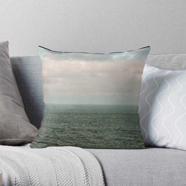 Sky over the Sea - Cornwall Throw Pillow
