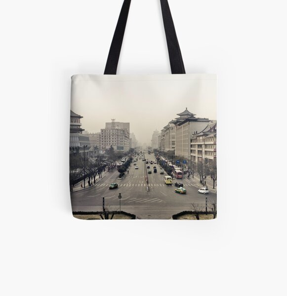Xi'an All Over Print Tote Bag