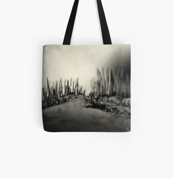 Magic in Moss All Over Print Tote Bag