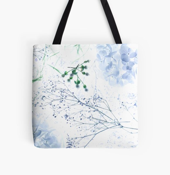 Flowing Up The River All Over Print Tote Bag