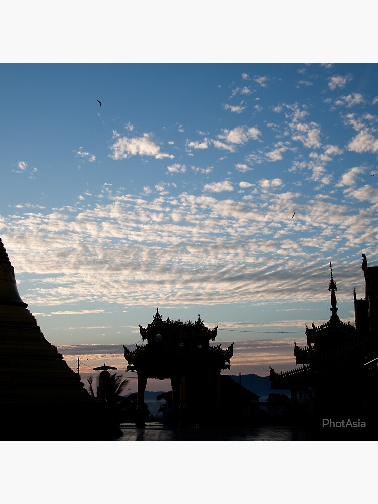 Mahamuni Paya Sunrise by PhotAsia