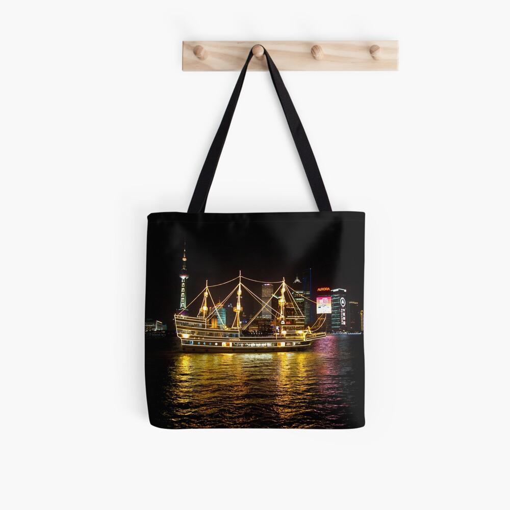 Shanghai Tall Ship Tote Bag