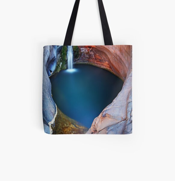 Spa Pool #2 - Karijini N.P.   Western Australia All Over Print Tote Bag