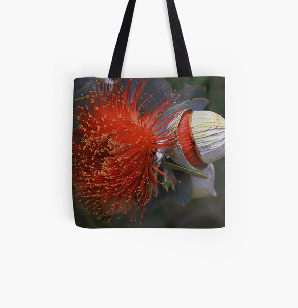 Eucalyptus macrocarpa All Over Print Tote Bag