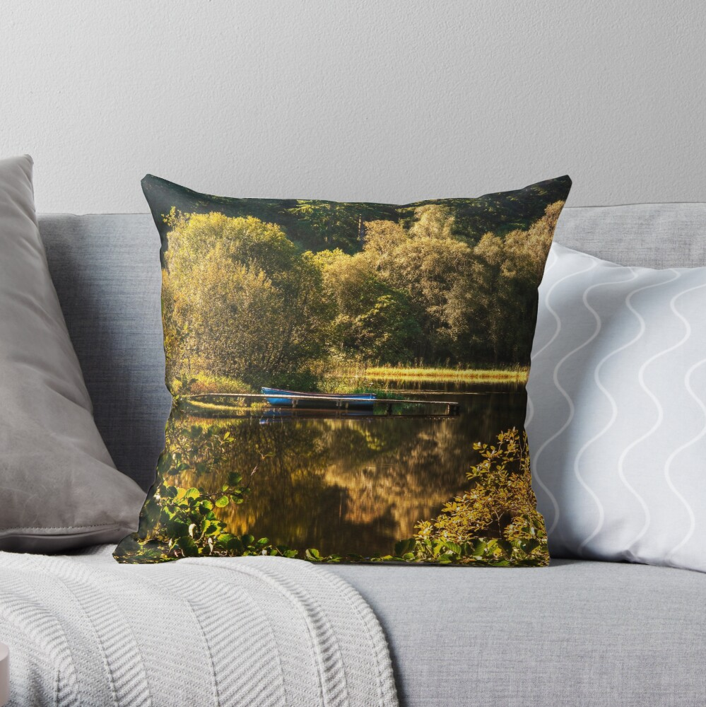 The Jetty (6) Throw Pillow