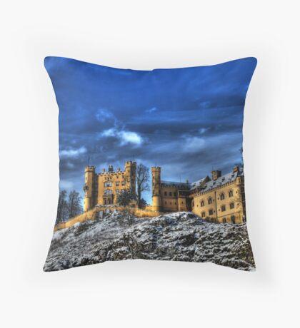 Hohenschwangau Castle Throw Pillow