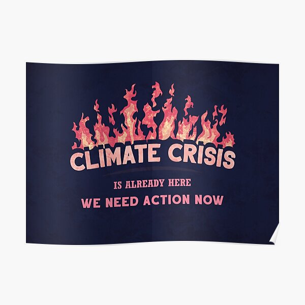 Climate Crisis Poster