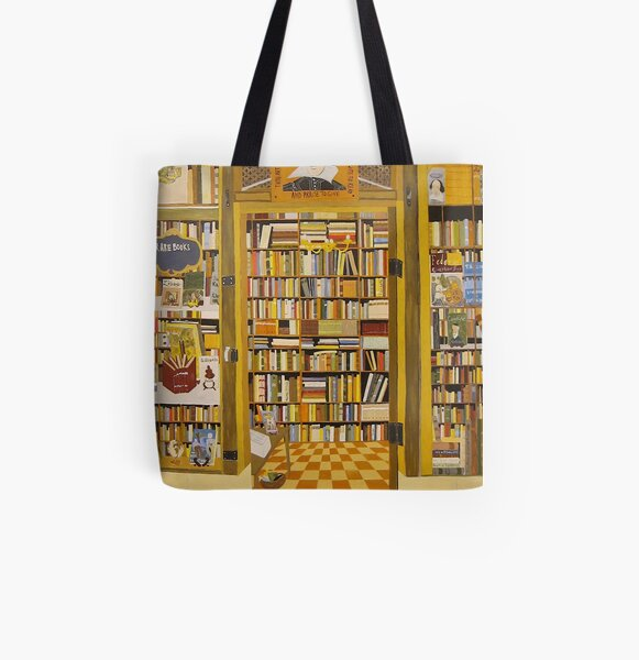 Shakespeare and Co Bookstore, Paris All Over Print Tote Bag