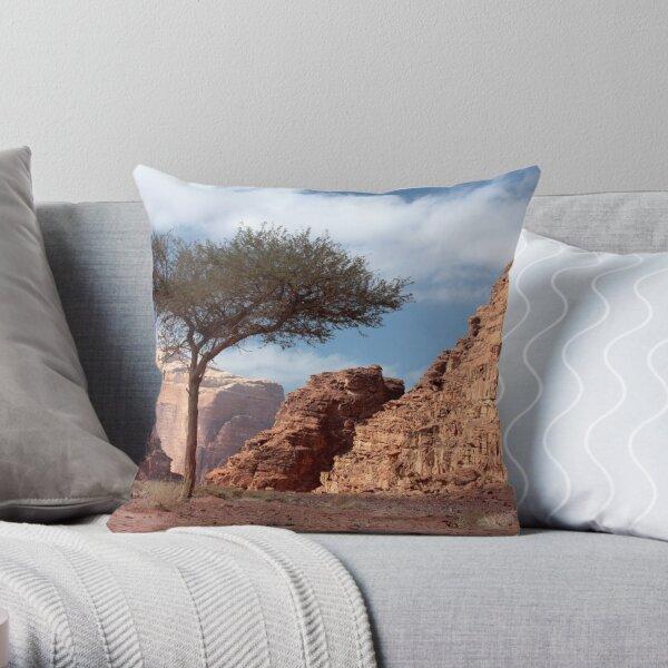 Wadi Rum Throw Pillow